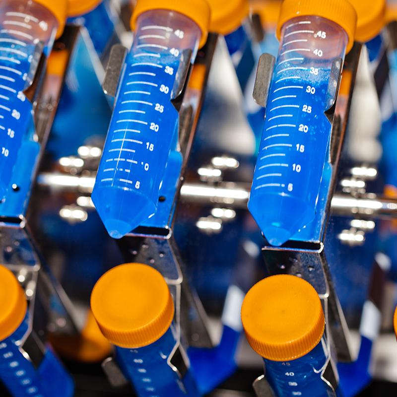 Centrifugation et tubes à essai
